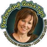 Brenda Baker - Performing Quick Tips